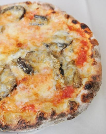 Mini pizza de Rome - The Food Spy