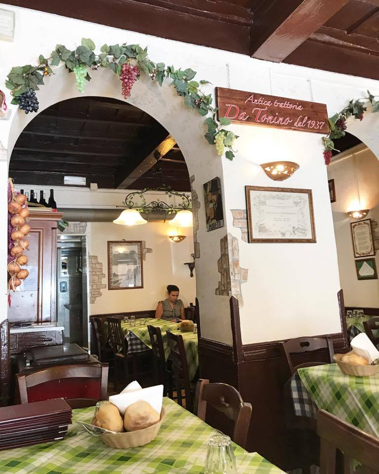 Intérieur restaurant rome - The Food Spy