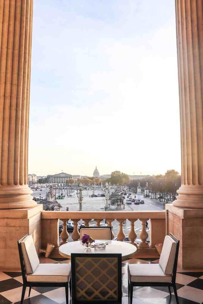 Le magnifique Tea Time de l'Hôtel de Crillon