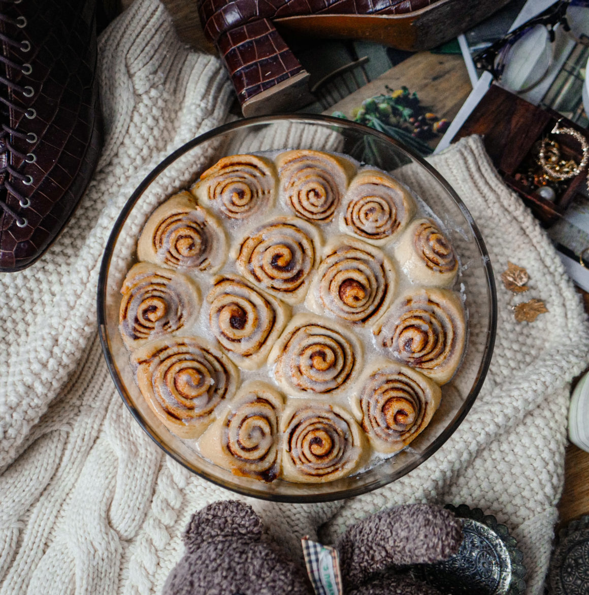 Les cinnamon rolls
