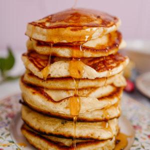 Les parfaits fluffy pancakes américains
