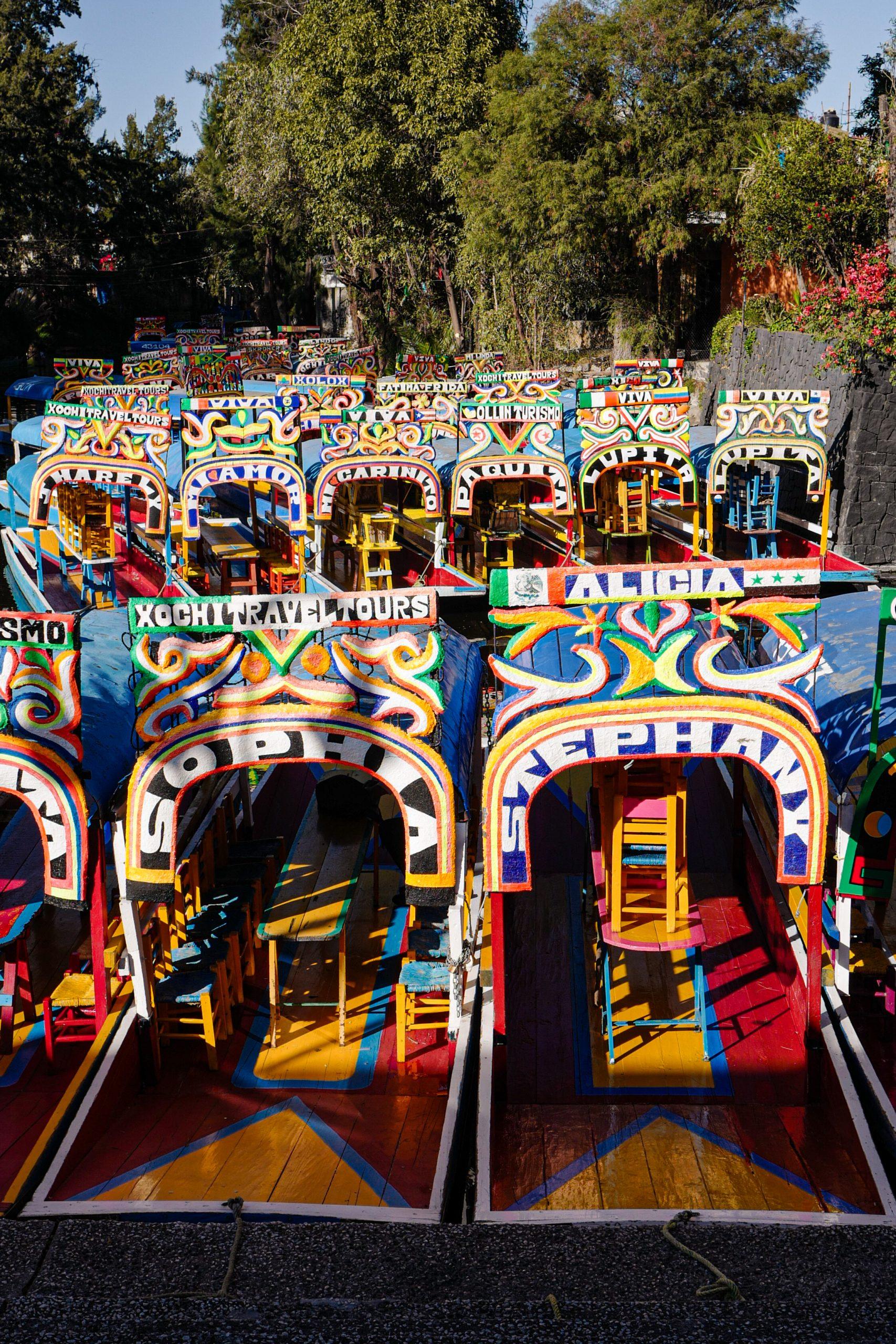 bateau-xochimilco